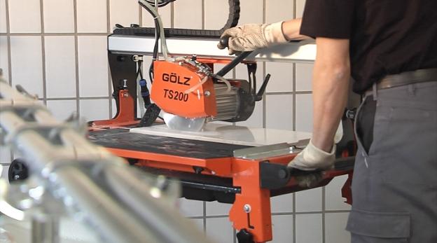 Fliseskæremaskine - Gölz TS200