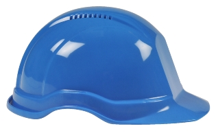 Sikkerhedshjelm, Blå