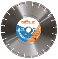 Gölz CS 40, Ø500x25,4 mm, Diamantskive