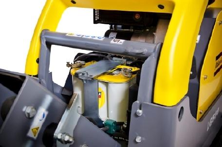 Atlas Copco LG504, Pladevibrator