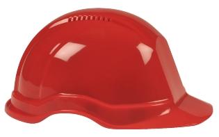 Sikkerhedshjelm, Rød