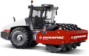 Dynapac CA4000PD, Valsetog