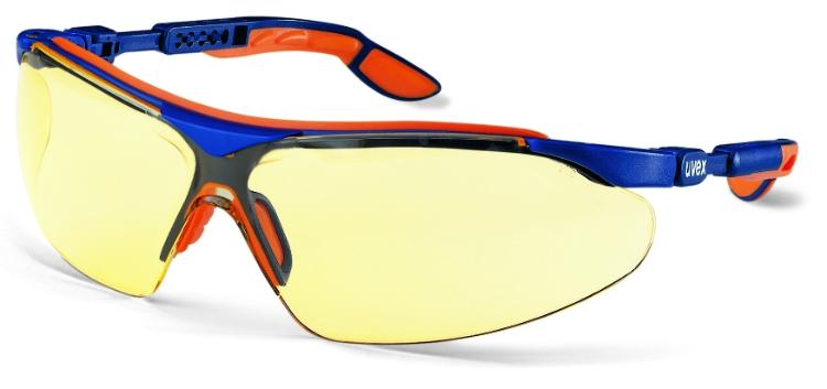 Sikkerhedsbrille, Gul linse, Ridsefast