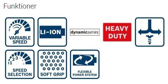 Bosch GDR18V-LI, Slagskruetrækker