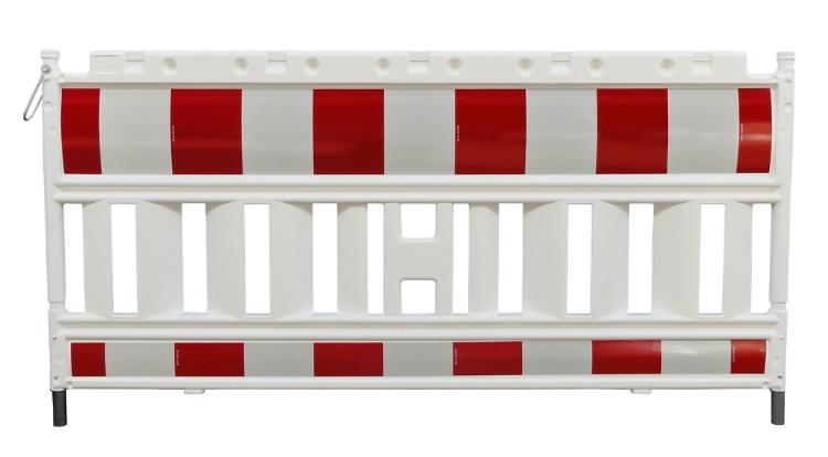 Afspærringsgitter, 200x100 cm