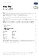 Teknisk datablad, Kema Multifedt MG-270 m/PTFE, Spray, 500 ml