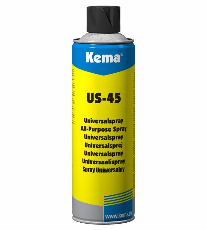 Kema Universal smøremiddel US-45, Spray, 400 ml