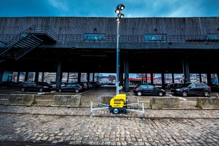 Atlas Copco HiLight E3+, Lystårn