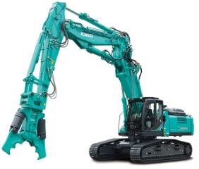 Kobelco SK400DLC-10, Nedrivningsmaskine