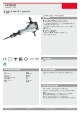 Produktdatablad, Hitachi H90SG