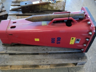Rotair OLS 550, Brugt hydraulikhammer