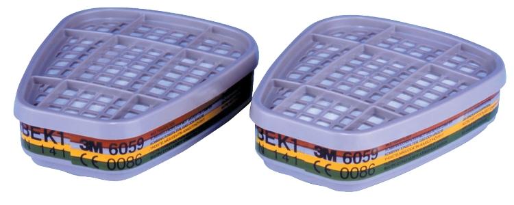 Filter, ABEK1, 8-pak