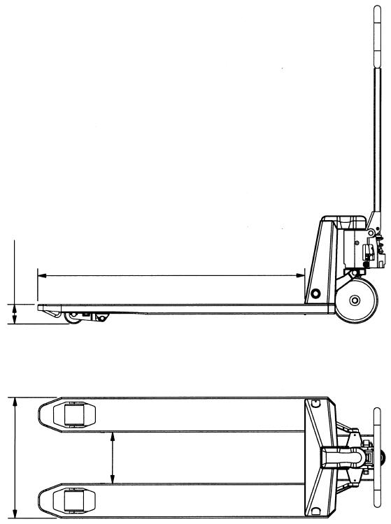 Pallevogn NH PL2200BP, NH Handling