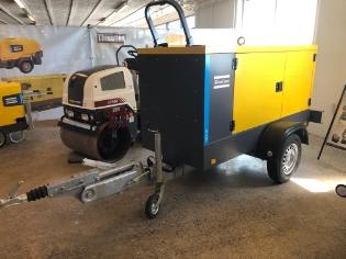 Atlas Copco QES 30, Brugt generator trailer model