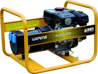 Worms 3010X, 230v, Generator