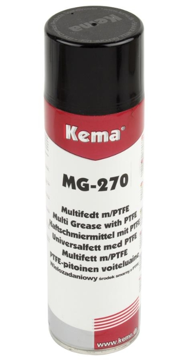 Kema Multifedt MG-270 m/PTFE, Spray, 500 ml