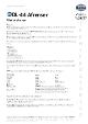Teknisk Datablad, Afrenser DL-44, Spray, 400 ml