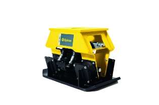 Epiroc HC350 Pladevibrator (360° rotation), Maskinbåren
