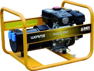 Worms 3010X, 230v, Generator