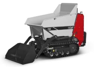 C&F T85, Motorbør, dieselmotor, m. skovl