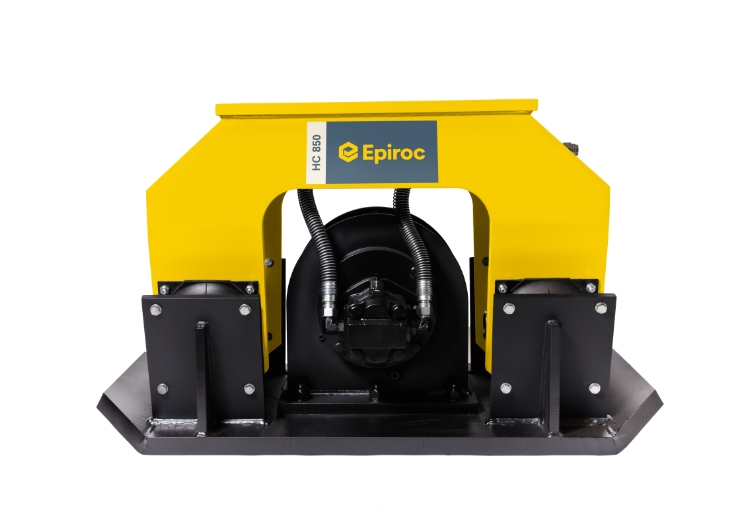 Epiroc HC850 Pladevibrator (statisk), Maskinbåren