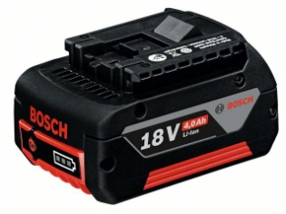 Bosch Batteri, GBA 18 V, 4,0 Ah Lithium