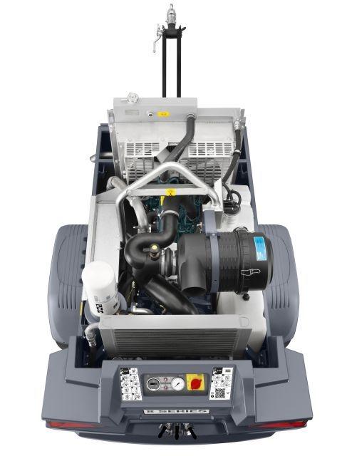 Atlas Copco XAS 68 Kd, Kompressor