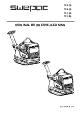 Swepac FB510 Pladevibrator brugermanual