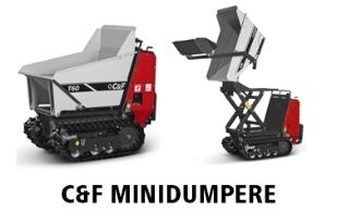 C&F minidumpere/motorbør