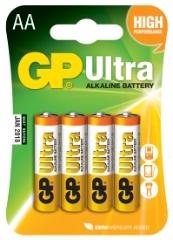Ultra Alkaline, LR6/AA, 4-pak