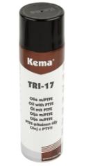 Kema Olie m/PTFE TRI-17, Spray, 500 ml