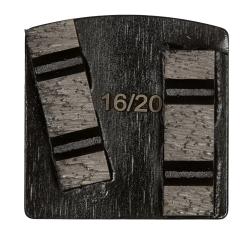 WSM Black, 12 mm, #16/20, Double